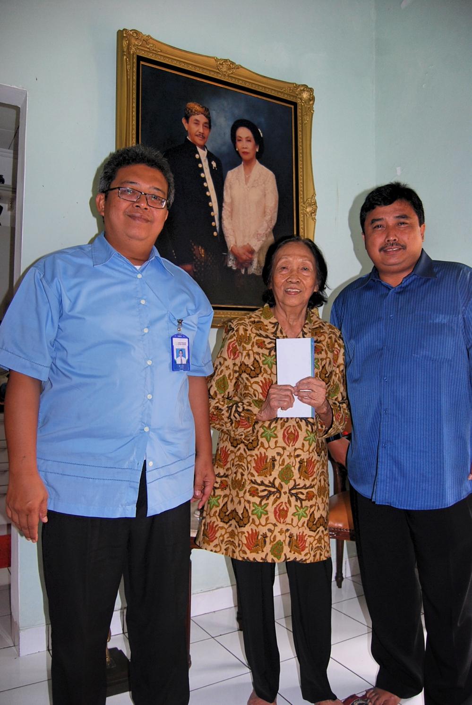 Kunjungan ke Rumah Bapak Soetarno (Alm)