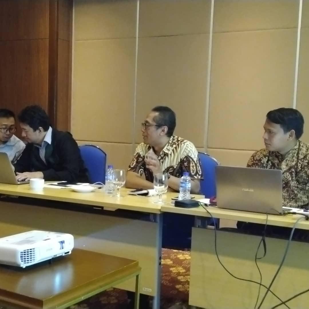 Rapat Rekonsiliasi Data dengan PT. Asuransi Jiwasraya (Persero) Tanggal 24 November 2018 di Hotel Salak Bogor.