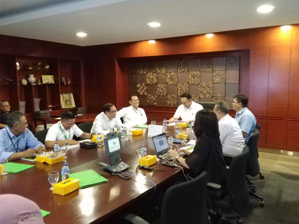 Rapat Pendiri Rencana Anggaran Belanja dan Pendapatan  DPGA  Tanggal 11 Desember 2018 di Garuda City Center.