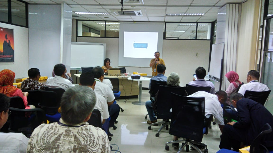 Sosialisasi di Mitra Pendiri PT. Aero Systems Indonesia Tanggal 22 Mei 2017