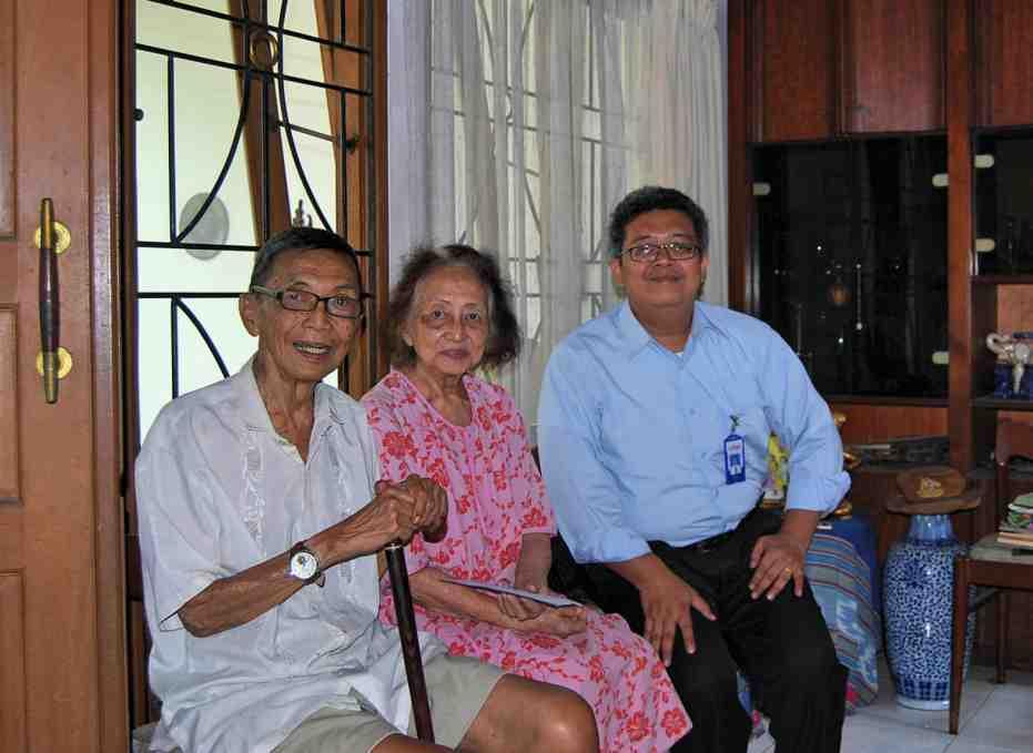 Kunjungan ke Rumah Bapak G.S Joewono (Alm)
