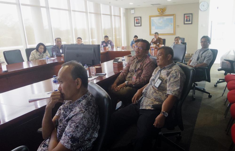 Sosialisasi DPGA di Pendiri PT.Garuda Indonesia (Persero) Tbk. Tanggal 17 Juli 2018