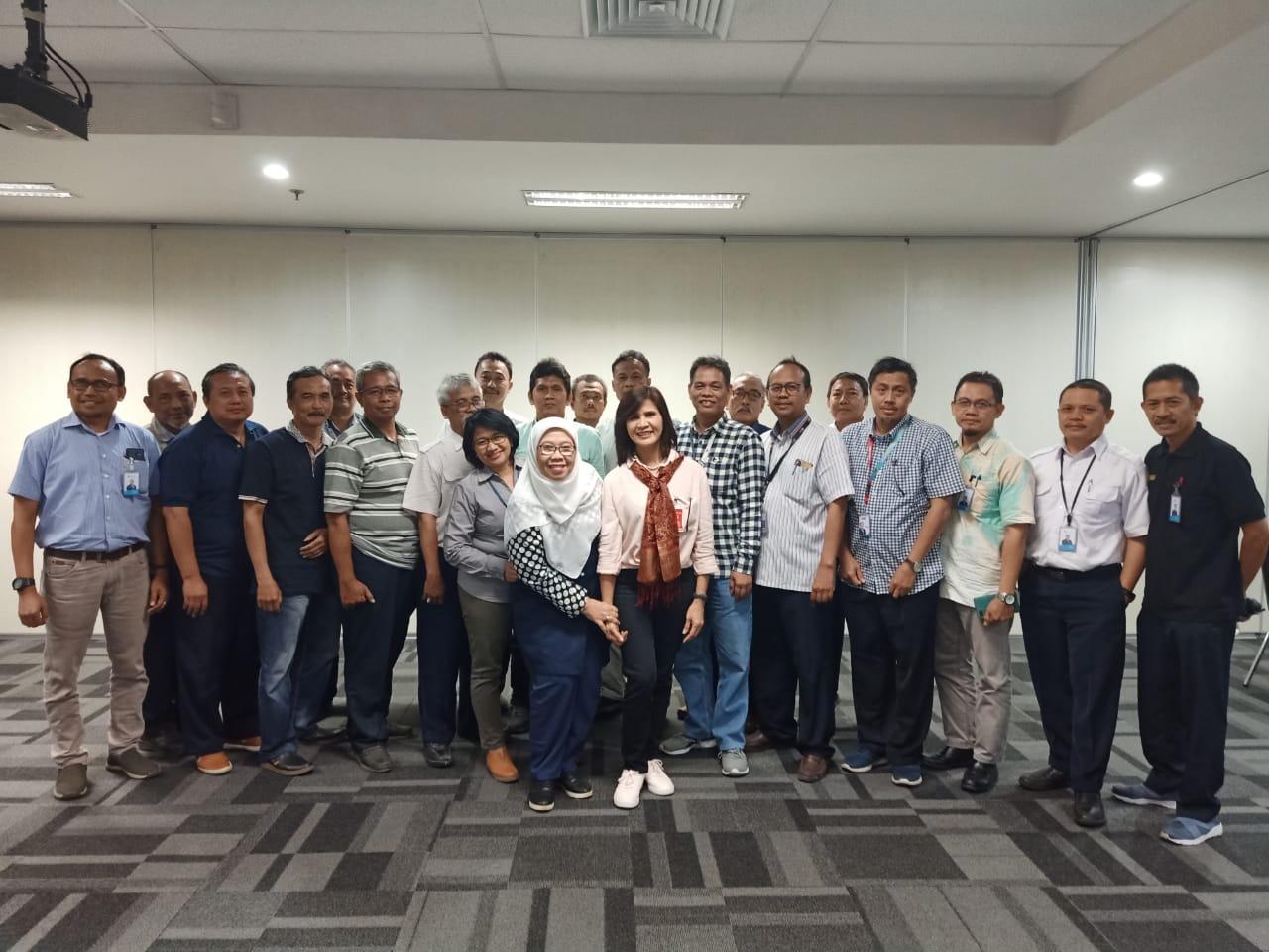 Sosialisasi di Mitra Pendiri PT. Garuda Maintenance Facility Aeroasia Tbk., Tanggal 04 Oktober 2019