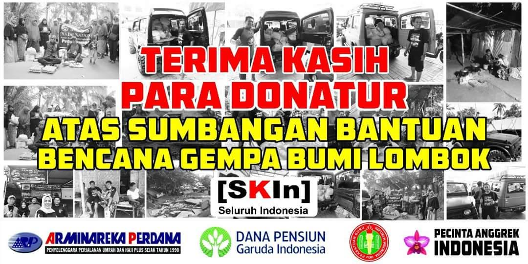 Bantuan Bencana Alam Lombok