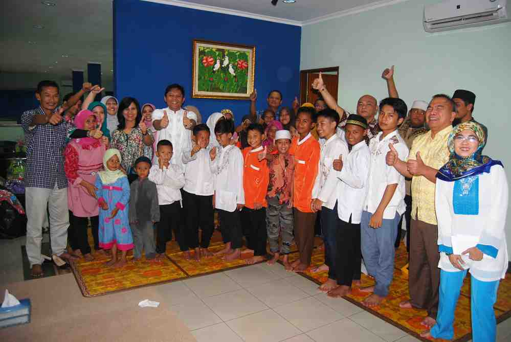 Buka Bersama Anak Yatim Piatu