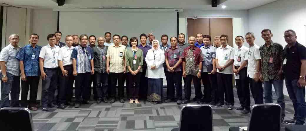 Sosialisasi di Mitra Pendiri PT. Garuda Maintenance Facility Aeroasia Tbk. Tanggal 26 Oktober 2018